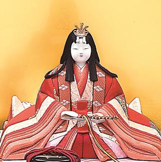 真多呂人形 有職雛(女雛)品番:1281