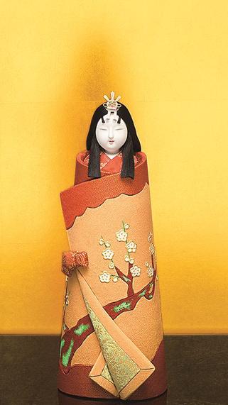 真多呂人形 御慶事立雛(女雛)