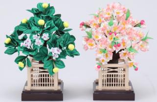 雛道具 桜橘(木井垣)