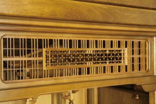 栓仏壇「琴泉」 欄間