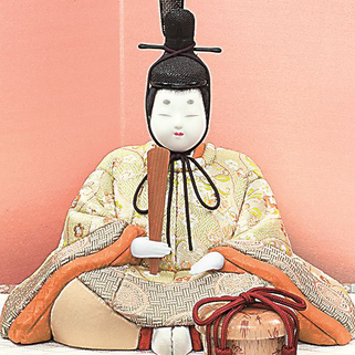 真多呂人形 彩光雛(男雛)