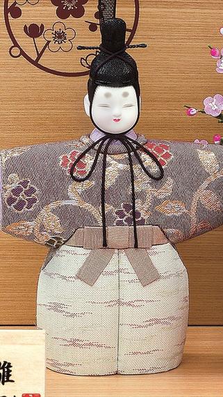 真多呂人形 ほほえみ(男雛)