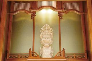 欅仏壇「ゆたか2型 筬」20号 照明