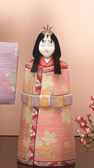 真多呂人形 本金 千寿立雛(女雛)
