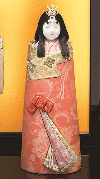 真多呂人形 本金 華宝立雛(女雛)