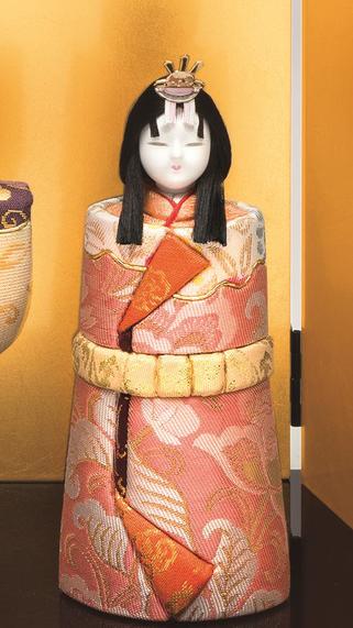 真多呂人形 本金 高円立雛(女雛)