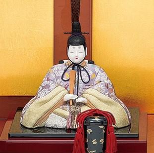 真多呂人形 本金 和泉雛(男雛)