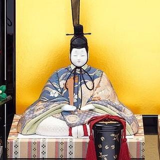真多呂人形 弥生雛(男雛)