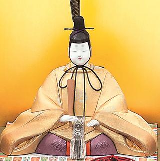 真多呂人形 本金 鳳凰雛(男雛)
