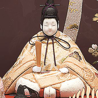 真多呂人形 春香10人飾りの男雛