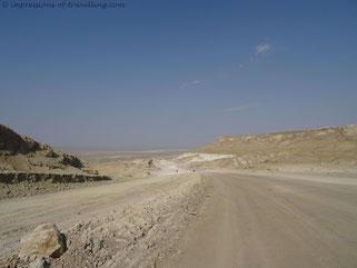 Wüste in Kasachstan