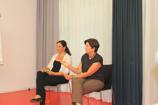 Yvonne Graff und Susanne Krumbacher als Co-Mediatorinnen in einer Teammediation
