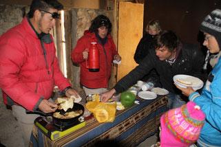Préparation de milaneses au fromage
