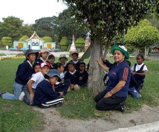 Biologie im Park. Foto: Cisol, 2014