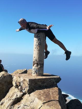 Freiflug auf dem höchsten Berg von Fuerteventura