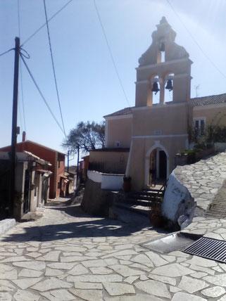Das schöne Dorf Chlomos