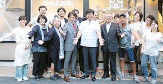 「石垣島商店」レセプションパーティ=9日、東京都渋谷区(写真提供、石垣島商店)