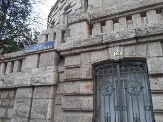 Puerta de entrada de la Parroquia