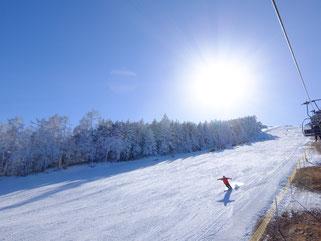 家族でスキー