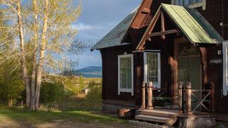 Das alte Pfarrhaus in Kvikkjokk