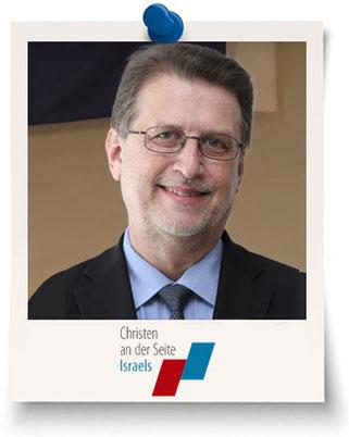 """Harald Eckert, Leiter der """"Christen an der Seite Israels"""""""