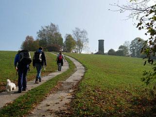Aufstieg zur Ruine Schreckenberg