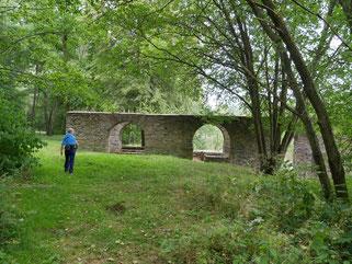 Kahnhebehaus bei Halsbrücke über der Freiberger Mulde