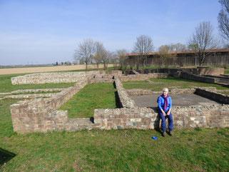 römische Ausgrabung bei Großsachsen