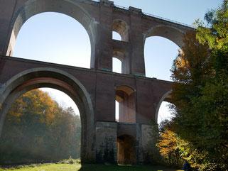 Elstertalbrücke bei Jocketa/Vogtland
