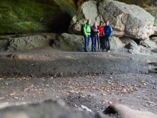 In der Bärenhöhle bei Pirmasens