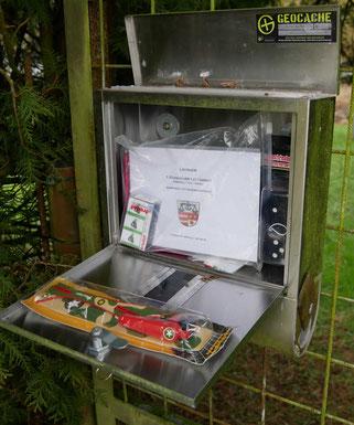 Die Letterbox in einer Letterbox