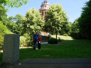 Rugardturm bei Bergen auf Rügen