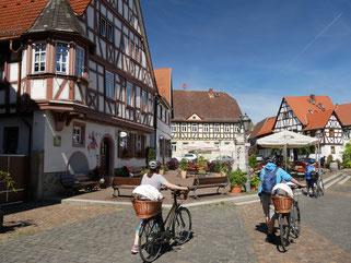 Schöner Ortskern von Hanau-Steinheim