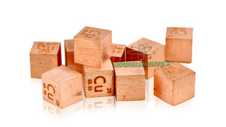 copper metal density cube, copper metal cube, copper metal standard density cube, theoretical density of copper, copper cube, copper rod, copper cube for collection, collect the cubes of elements, elements of periodic table cube