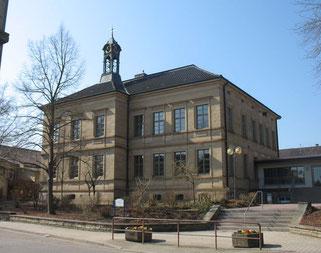 Das alte Schulhaus in Sulzfeld beherbergt seit 1990 u.a. ein Museum der Heimatfreunde
