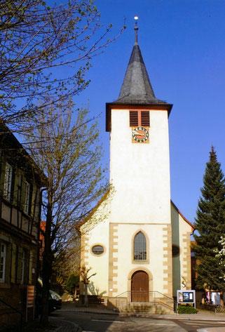 Kirche Großvillars – Weihe 1752