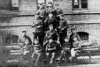 Soldatengruppe des 1.Weltkrieges