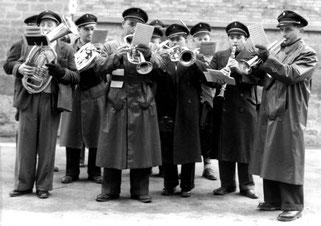 Musikverein Derdingen in den 1950er Jahren