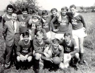 Ausflug der Fußballjugend des FC Flehingen 1967 in den Schwarzwald