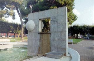 Fontana dell´emigrante AD 9.11.1984