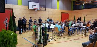 4bands4future in Concert. Quelle: Musikverein Helmsheim