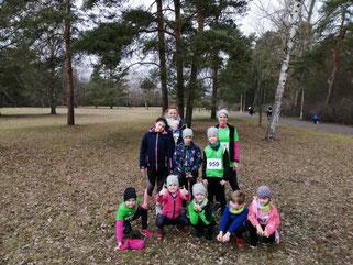 Das Beeskower Laufteam beim 3. Lauf (Foto: Jens Dahley)