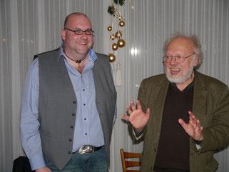 Der alte und der neue Vorsitzende: Stefan Beike (l.) und Dr. Jürgen Schmitter