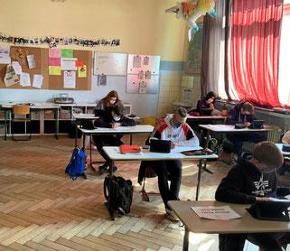Auch an der IGS Helmstedt wurde der Unterricht für die Abschlussklassen zur Prüfungsvorbereitung wieder aufgenommen. Annemarie Schöning IGS