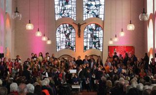 NGL-Gottesdienst in St. Anna. Foto: A. Gnida