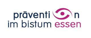"""Logo """"Prävention im Bistum Essen"""""""