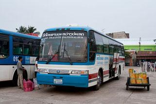 Thailändischer Linienbus