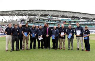 2010 ECB Europe Sky Sports Outstanding Coach Award Winners