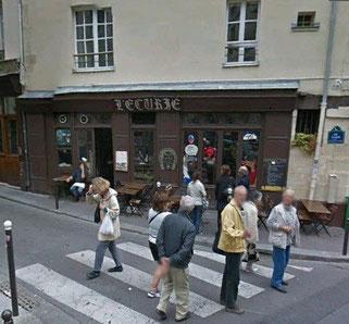 """A la même adresse une cinquantaine d'années plus tard : le restaurant """"L'écurie"""" - Google streetview"""