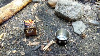 im Hobo brennt munter das Feuer